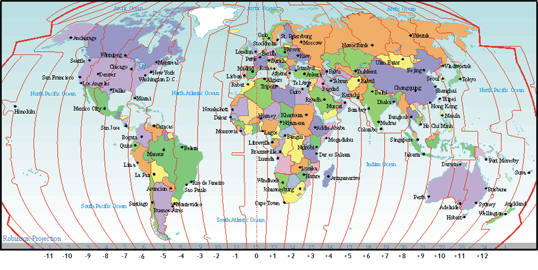 Gmt To pacific Time Zone converter Google maps